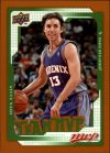 NBA 2008-09 Upper Deck MVP - No 193 - Steve Nash